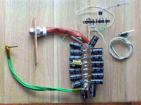 simple capacitor spot welder