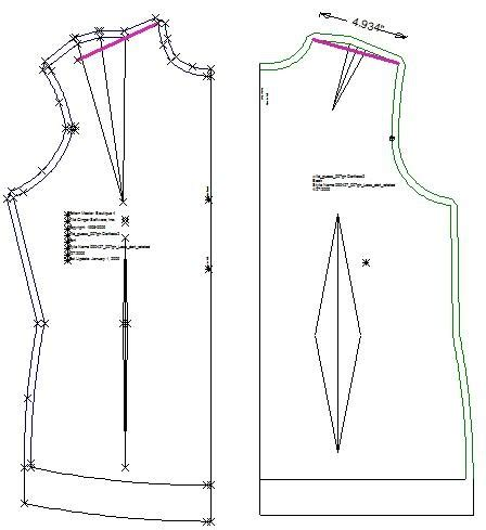 dress pattern design natalie bray sew what s next dartless top part two the pattern