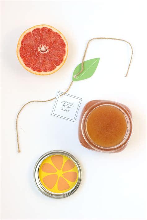 printable lemon recipes citrus sugar scrubs recipes and free printable