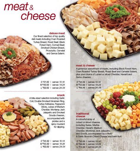 party platters pricesmart foods