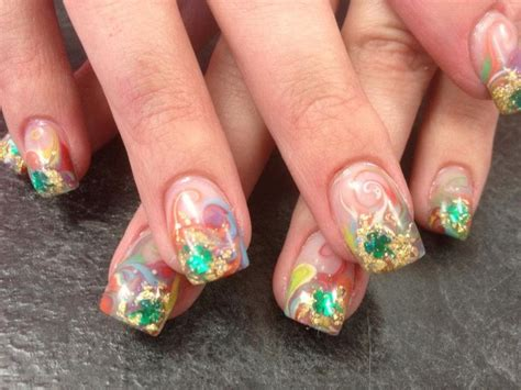 st pattern nails 17 best images about st patricks day nail art on