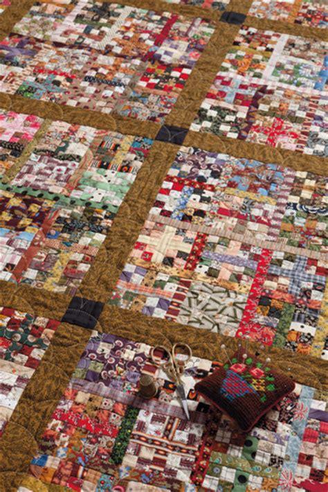 the trick to tiny piecing batchwork patchwork