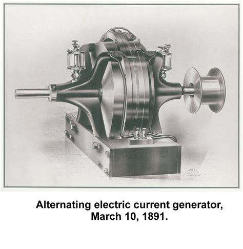 Nikola Tesla Induction Electric Motor Biography Moving To The Us