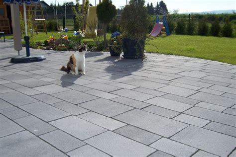 terrasse ideen 5198 fcn betonpflaster mischungsverh 228 ltnis zement