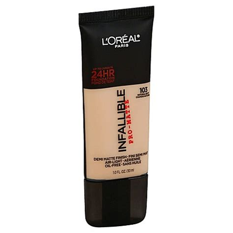 Foundation Loreal Pro Matte L Or 233 Al 174 Infallible Pro Matte Foundation In