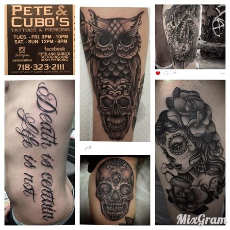 pete and pete tattoo pete cubo s tattooing piercing 89 photos 70