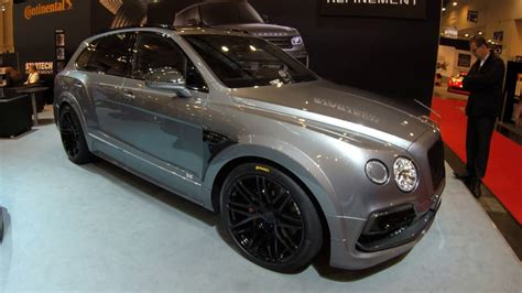 bentley bentayga silver bentley bentayga suv silver colour modificated by startech
