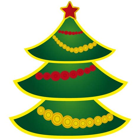 silueta arbol de navidad imagui