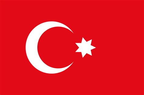 the ottoman empire flag file flag of the ottoman empire also used in egypt svg