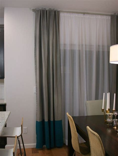 Diy Dining Room Curtains 17 Best Ideas About Curtain Rods On
