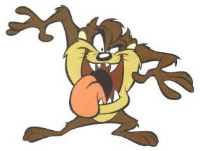 patrick owsley cartoon art tasmanian devil
