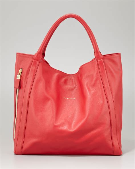 Tote Bag By see by chlo 233 harriet leather tote bag in lyst