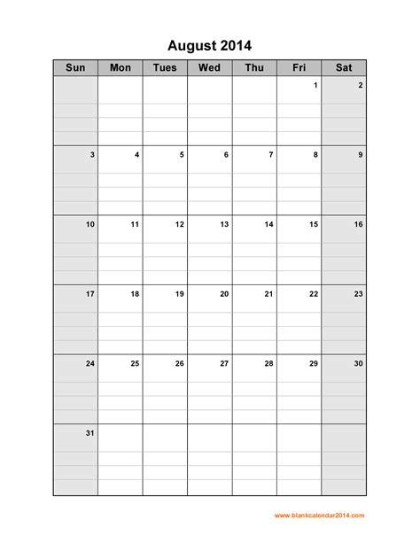august 2014 calendar template calendar 2017 printable printable calendar template