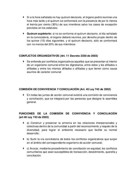 Resume Colombia by Resumen De La Normatividad Comunal En Colombia