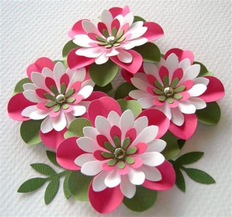 Handmade Flowers From Paper - paper flowers handmade paper flowers and watermelon on