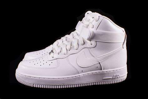 nike air force  high  white sneaker bar detroit