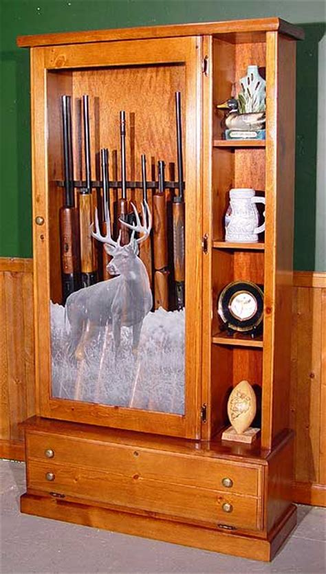 wood and glass gun cabinet scout products llc