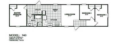 14x60 Mobile Home Floor Plans by Floorplans Photos Oak Creek Manufactured Homes