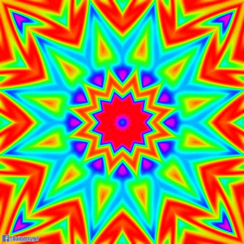 hippie pattern gif colors of the rainbow gifs find share on giphy