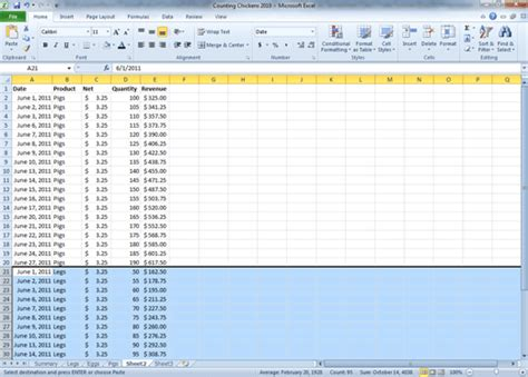 Spreadsheet Tutorial Excel 2010 by Comma Page 59