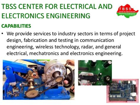 tbss center for electrical and electronics engineering company inform