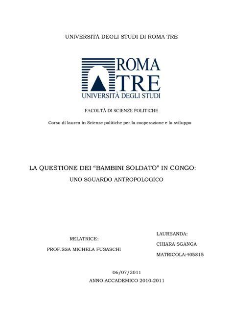 lettere roma3 tesi di laurea scienze politiche roma tre