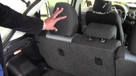 Toyota Yaris Back Seat Fold 2012 Toyota Yaris Fold 2nd Row Seats How To