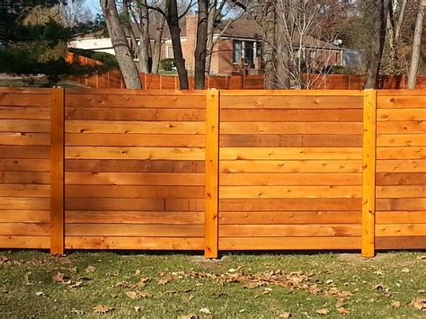 horizontal wood fence horizontal fence panels for privacy and protection