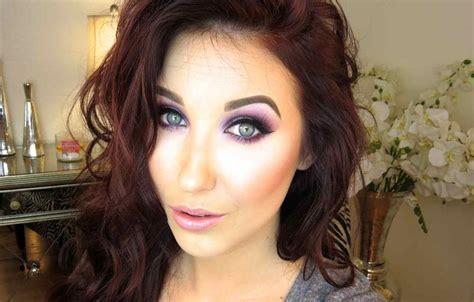 eyeshadow tutorial jaclyn hill purple glitter makeup tutorial youtube