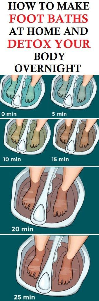 Detox Foot Bath At Home by Best 25 Foot Detox Ideas On Foot Detox Soak