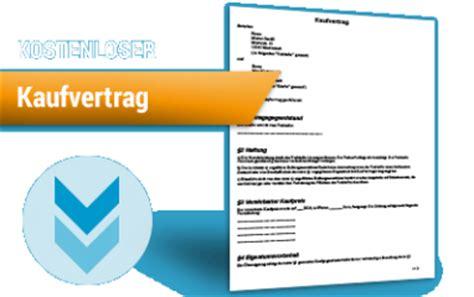 Kaufvertrag Auto Kostenlos Runterladen by Vertr 228 Ge Vorlagen Und Muster Rechtssicher Kaufen Und