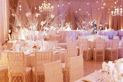 winter wedding reception decorations the touch a warm and cozy winter wedding