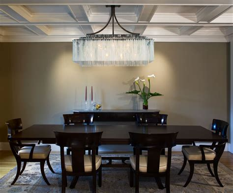 Dining Room Chandelier Lighting Rectangle Dining Room Chandeliers 02 Plushemisphere