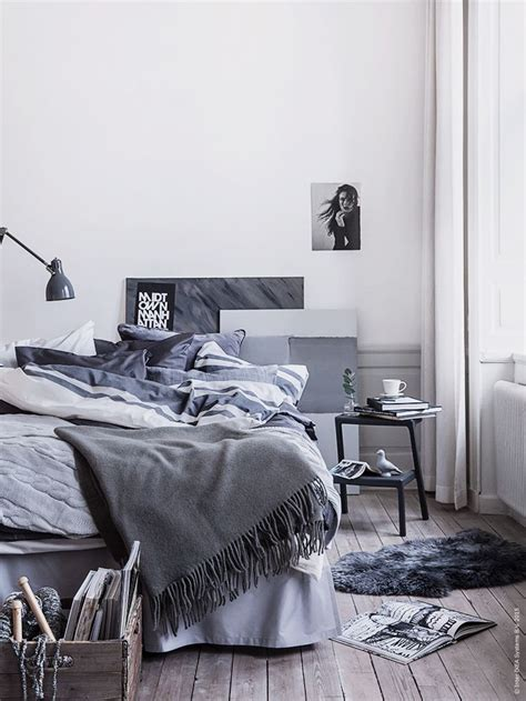 grey scandinavian decordots living room
