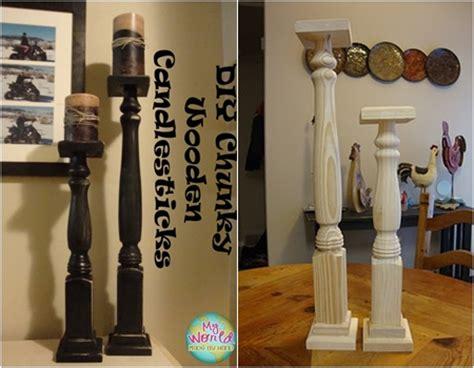 table legs 10 creative diy candlestick holders diy