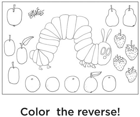 free printable coloring pages hungry caterpillar coloring pages free coloring pages of eric carle book
