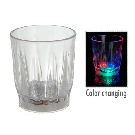 best barware glasses 12 light up shot glasses led flashing drinking blinking