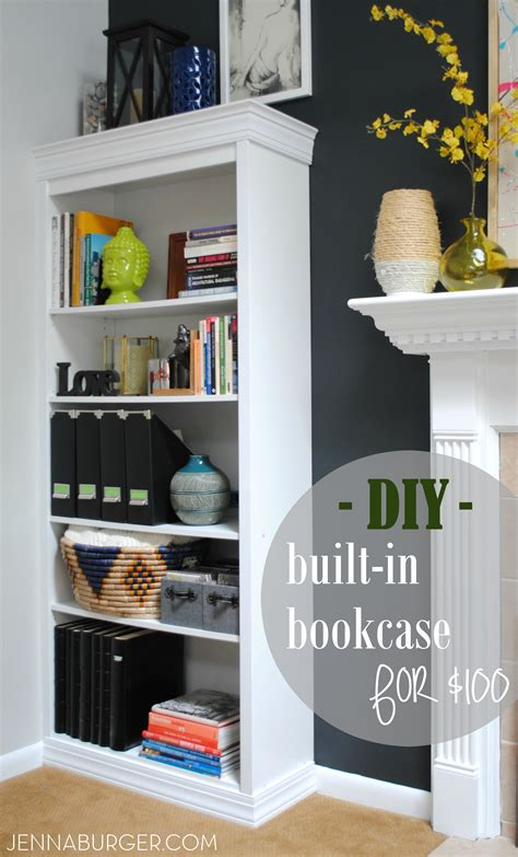 bookcases that look built in how to make bookcases look built in roselawnlutheran