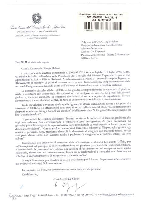 come scrivere lettere formali fratelli d italia lettera di giorgia meloni a renzi dopo