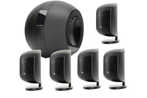 b w mt60 5 1 home theatre speaker systems other