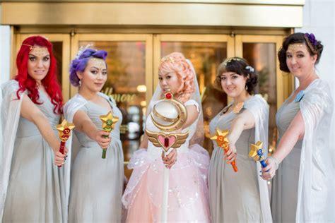 dreams    true  sailor moon wedding geekologie