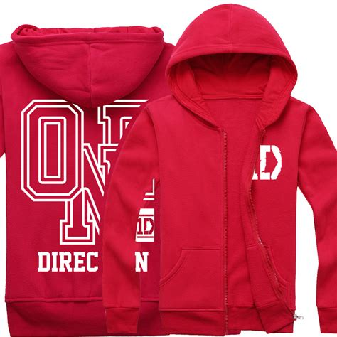 Zipper Hoodie One Direction harry styles sweatshirt reviews shopping reviews