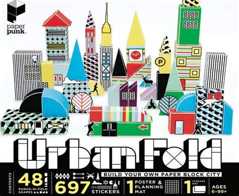 City Origami - build your own origami city with paper punk s new