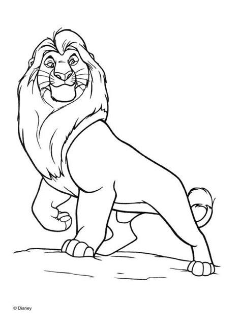 imagenes de leones para colorear rey leon para pintar dibujo colorear gif dibujos picture