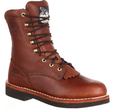 boots farm and ranch boot s farm ranch lacer work boot ebay