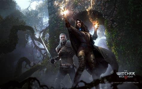 wallpaper games 2015 the witcher 3 wild hunt video game 2015 hd wallpaper