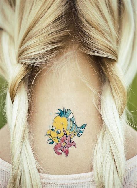 flounder tattoo flounder disney disney disney
