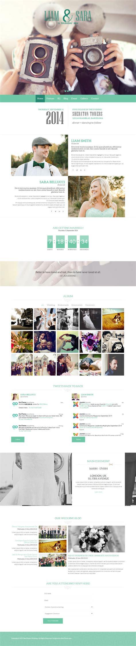 joomla themes best best responsive wedding joomla templates in 2014