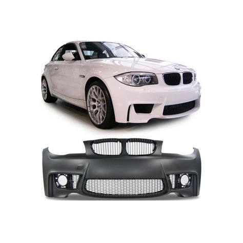 Calandre Bmw Serie 1 E81 Pack M by Pare Choc Look M Bmw Serie 1 E81 E82 E87 E88 Calandres