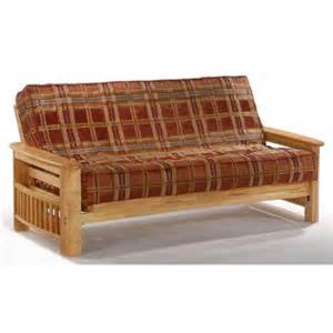 finish futon frame in solid wood standard